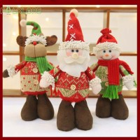 Fol Boneka Santa Claus / Rusa / Snowman untuk Dekorasi Natal