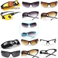 Driving Kacamata Hitam UV400 HD Polarized Anti Silau Dengan Night