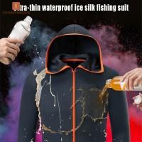 Men Waterproof Fishing Jackets Hydrophobic Windbreakers for