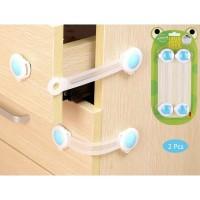 BK-008 Kunci Pengaman Bayi Anak 2 Pcs untuk Lemari Kulkas Laci Premium