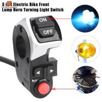 Lampu Sein LED 3in1 untuk Sepeda / Skuter Elektrik