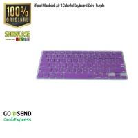 iPearl MacBook Air 11 Colorful Pelindung Keyboard Protector Purple