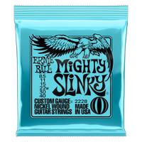 Ernie ball Mighty Slinky Nickel Wound Electric Guitar Strings 8.5 40