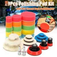 29Pcs Busa Pad Buff untuk Poles Mobil