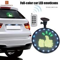 Lampu LED Bentuk Emoji dengan Remote Control untuk Mobil