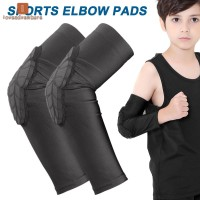 Kids Sports Elbow Pads Honeycomb Compression Knee Pad Protective