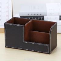 Kotak Pensil Bahan Kulit PU untuk Kantor / Kamar