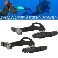 2pcs Universal Fins Strap with Quick Release Buckle for Diving
