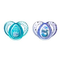 Tommee Tippee Closer to Nature Everyday Baby Pacifier, Boy, Blue, 6-18