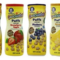 Gerber Graduates Apple Strawberry, Banana, Sweet Potato, Blueberry Puf