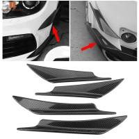 4Pcs Pelindung Bumper Depan Mobil Universal Tahan Lama
