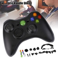 Portable Wireless Gamepad Remote Controller Shell with Buttons