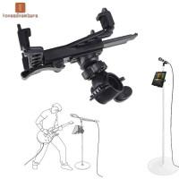 Stand Holder Microphone Musik untuk Tablet iPad 7-11 Inch iPad Air 5