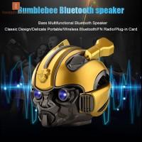 Bumblebee Helmet Bluetooth Speaker FM Radio Smart Subwoofer