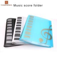 Music Sheet File Documents Paper Folder Holder Plastic A4 Size 40