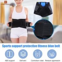 Neoprene Double Pull Lumbar Waist Support Lower Back Belt Brace
