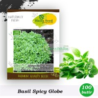 Benih-Bibit Basil Spicy Globe (Haira Seed)