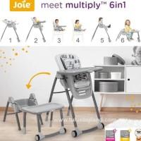 Joie Multiply 6in1 High Chair Kursi Makan Anak Bayi 6 in 1 - Petite