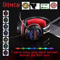 Gaming Headset Color Breathing Lights Wired Headset Gaming Black With