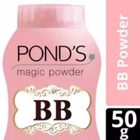 Ponds Magic Face Powder Bedak Tabur Wajah Bb Talcum 50G