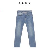 Celana Jeans Panjang Zara Man Denim Pants Slim Fit ORIGINAL Washed