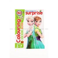 Buku Mewarnai & Sticker Frozen JQ968
