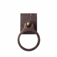 """6-1/2 """" Tarikan Pintu Lemari / Chest Ring Pull - HRP2122 Batik Kawung"""