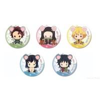 Pin Anime Kimetsu no Yaiba Characchu! Can Badge (Non-Official Ver)