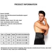 Aolikes steel Lumbar Support waist body