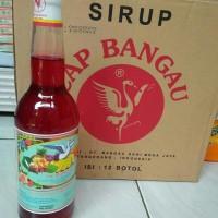 Sirup Cap Bangau Pisang Ambon 1 Botol 620 ML