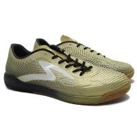 Sepatu Futsal Specs Swervo Thunderbolt IN (Gold/Black/White)