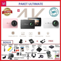 Paket Ultimate 26 in 1 Xiaomi Yi 2 4K Internasional Action Camera - Putih