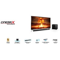 LED TV POLYTRON PLD 40B150 / 40B880 + SOUND BAR FHD TV [40 inch / USB
