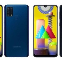 Samsung Galaxy M31, ram 6Gb internal 128Gb, baru! Garansi resmi 1 thn