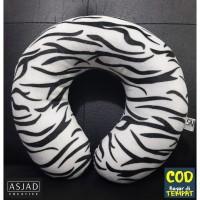 BANTAL LEHER KARAKTER Motif Zebra Produk Premium