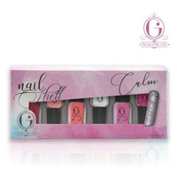 MADAME GIE NAIL SHELL SERIES / N-SHELL PEEL OFF [ SET ISI 6 BOTOL ]