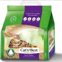 Cat's Best Smart Pellets 5kg Soft Clumping Pasir Kucing Wood Pelet