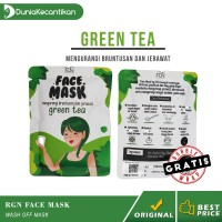 Masker Wajah Organik RGN Beauty Care Face Mask Green Tea 25gr