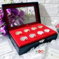 Kotak Mahar Dinar Dirham / Box Koin Dinar / Tempat Koin Dinar - 8 Koin