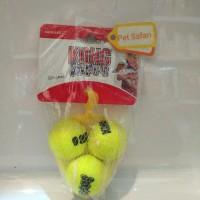 Mainan Anjing/ Kong Squeaker Ast 5 /Mainan Anjing Bola Tenis