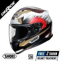 Helm SHOEI Z-7 MARQUEZ MOTEGI 2 TC-1 SNI