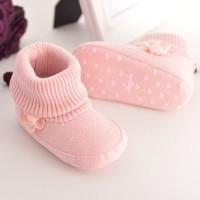 Prewalker Shoes / Sepatu Boots Bayi / Prewalker untuk bayi perempuan - 12cm, PINK