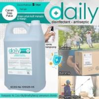 daily disinfektan 5L cairan disinfektan siap pakai
