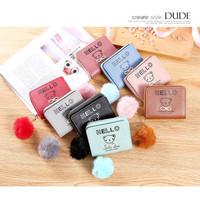 DOMPET WANITA DD28+POM2 KOREAN FASHION TRENDY FASHION WALLET REAL PIC