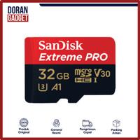 SANDISK EXTREME PRO MICRO SD CARD 32GB 32 GB 100MBPS - GARANSI RESMI