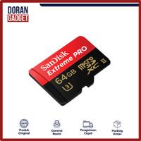 SANDISK EXTREME PRO MICRO SD CARD 64GB 64 GB 170MBPS - GARANSI RESMI