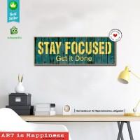 Quotes M2| Hiasan | pajangan dinding | poster | kayu | Decor