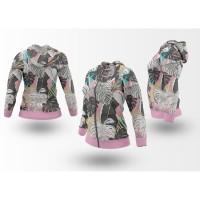 Hoodie Jaket Wanita Bunga Floral PATTERN SEAMLESS Style01 Fullprint