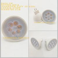 Lampu LED MR16 3W 3 WATT Kuning Warmwhite Garansi