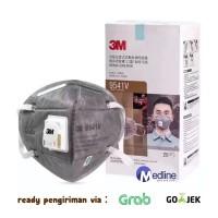 Masker 3M N95 / KN 95 9541v Earloop Carbonactive